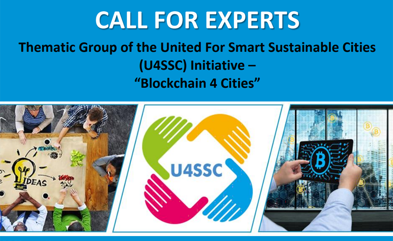 Anuncio iniciativa United for Smart Sustainable Cities