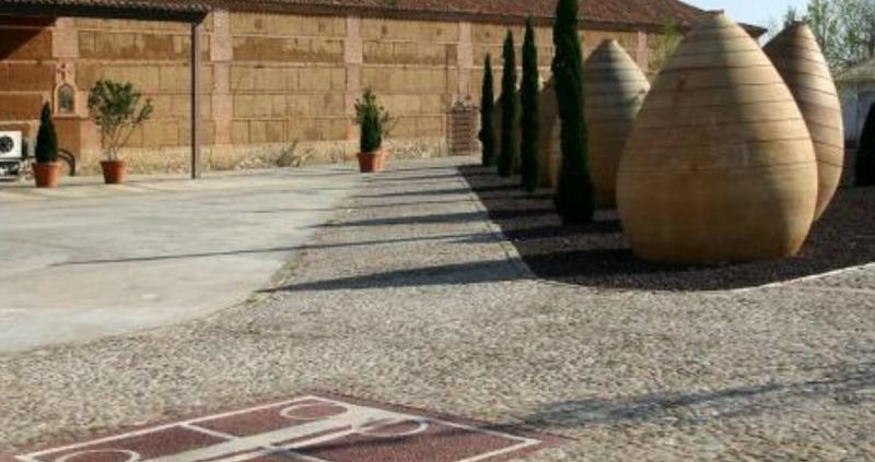 Exterior Bodega Finca Loranque en Toledo
