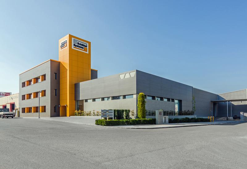 Sede de Schlüter-Systems empresa de soluciones para la colocación de baldosas cerámicas.
