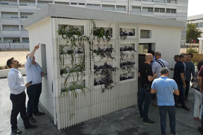 Casa de la start-up Be More 3D de la UPV