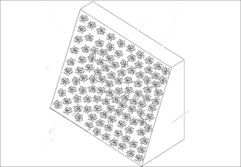Diseño pantalla acústica vegetal