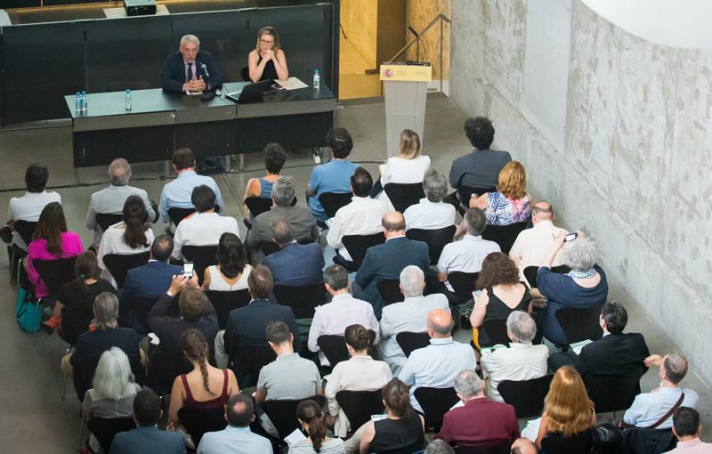 Celebración jornada de presentación 5 Congreso EECN