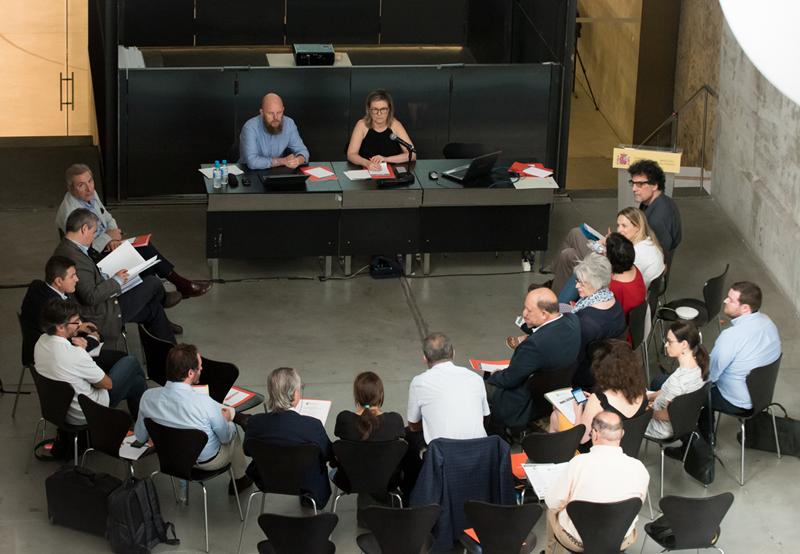 Reunión Comité Técnico V Congreso Edificios Energía Casi Nula