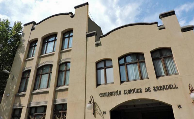 Fachada de la sede de Grupo Cassa en Sabadell