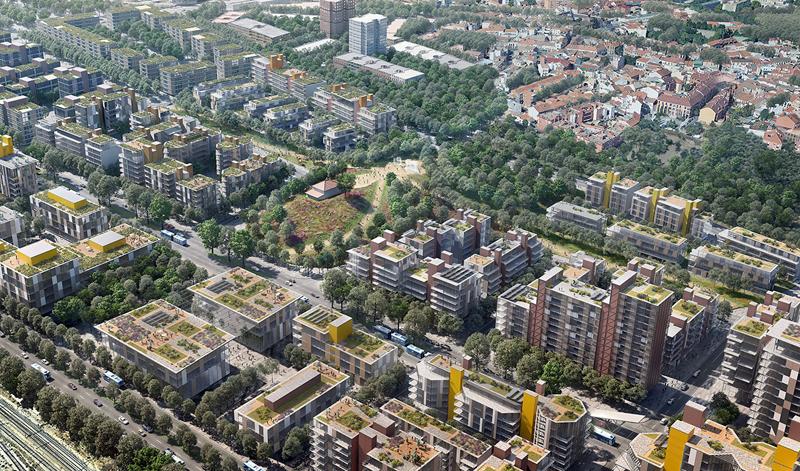 Viviendas en el futuro Madrid Nuevo Norte