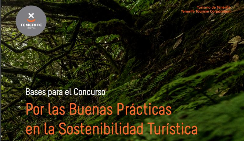Portada del Concurso de Buenas Prácticas en Sostenibilidad Turística