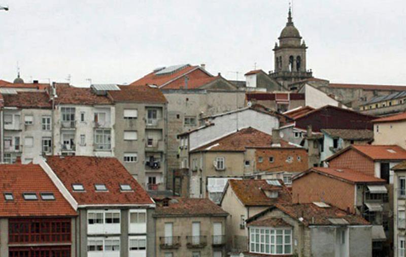 Vista panorámica de la ciudad de Orense