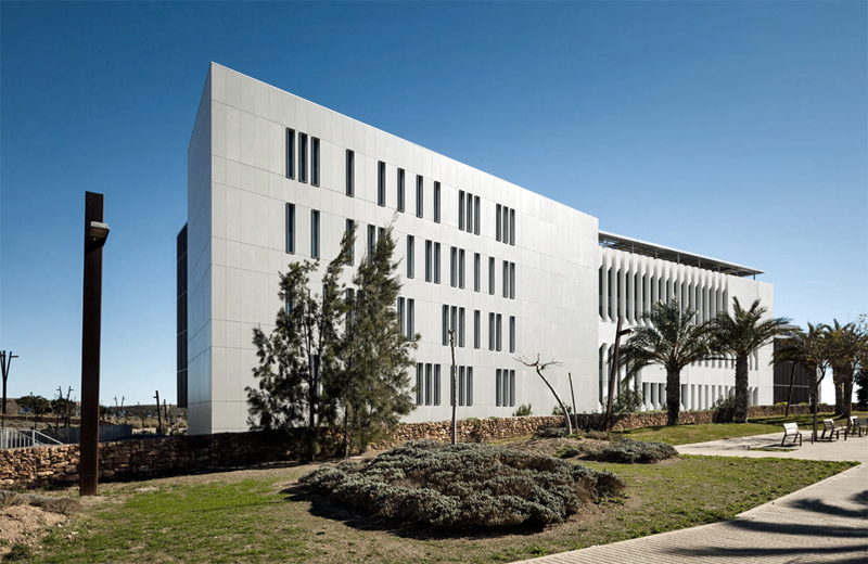 Edificio Cajamar de Almería