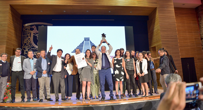 Entrega de los Global LafargeHolcim Awards 2018