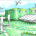 Urbaser creará una cubierta verde en uno de sus edificios de Barcelona para el ahorro energético y un aire más limpio