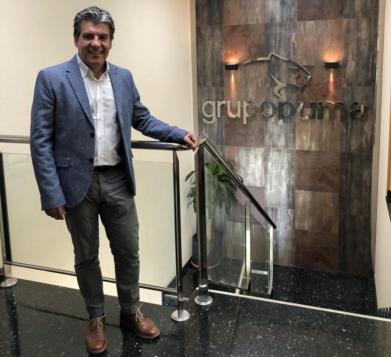 Antonio Cazorla es el responsable de Gestión de Calidad del Sistema de Gestión Medioambiental de la compañía