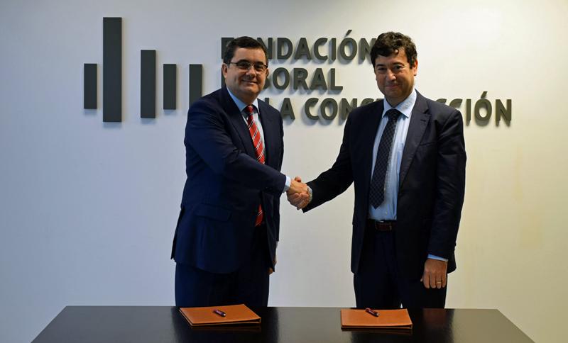 Firma del acuerdo de colaboración entre la Fundación Laboral de la Construcción y Asefave