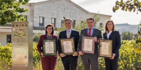 Bodegas Matarromera obtiene certificados de AENOR por su compromiso con el medio ambiente y la sostenibilidad