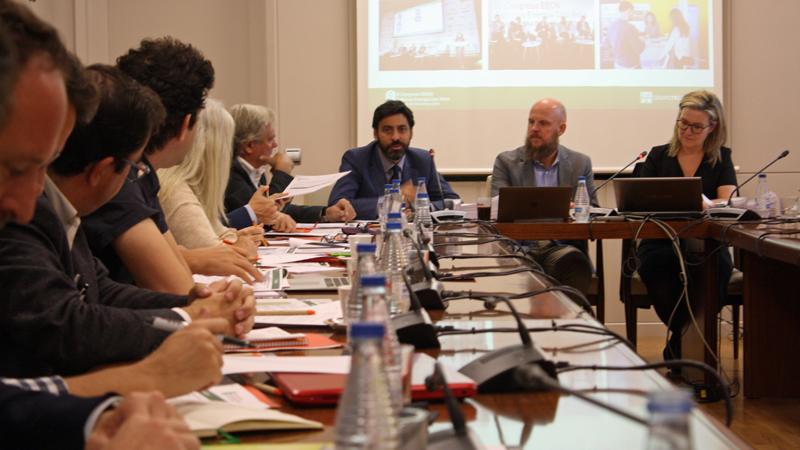 El director general de Arquitectura, Vivienda y Suelo del Ministerio de Fomento, Fco. Javier Martín
