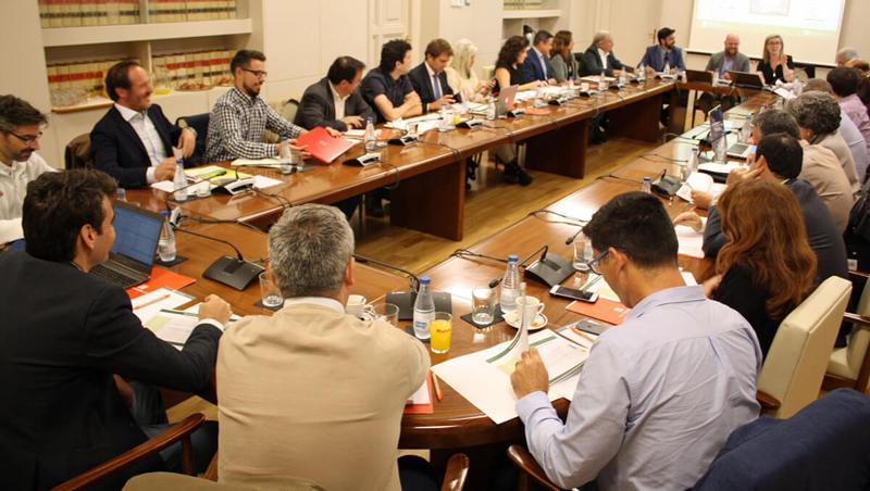 Los miembros del Comité Técnico del V Congreso Edificios Energía Casi Nula