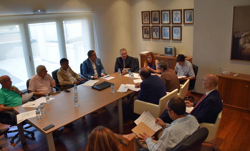 Reunión de la Comisión Regional de Vivienda de Castilla-La Mancha
