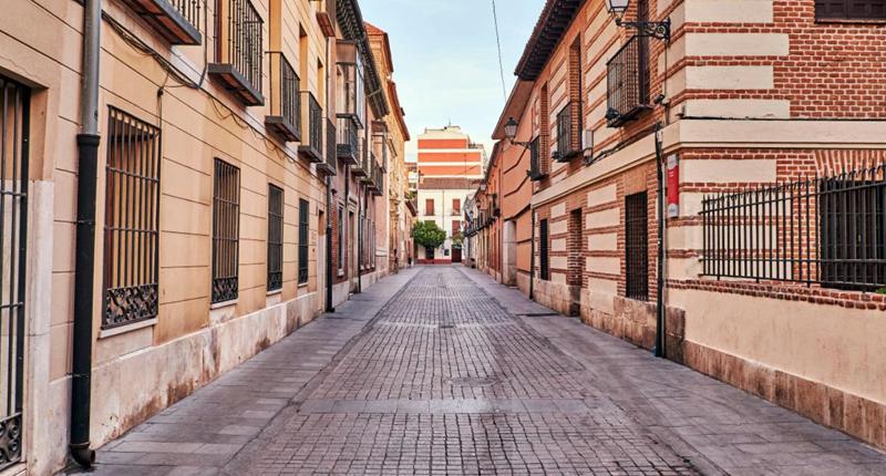 Calle del centro histórico de Alcalá de Henares
