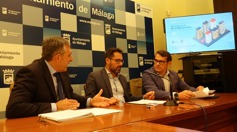 Presentación de la nueva convocatoria de ayudas para la rehabilitación en Málaga