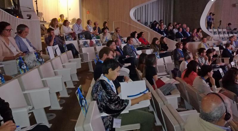 Público del I Congreso Internacional de Sostenibilidad