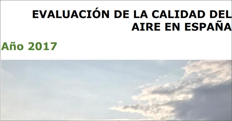 Informe de Evaluación de la Calidad del Aire en España
