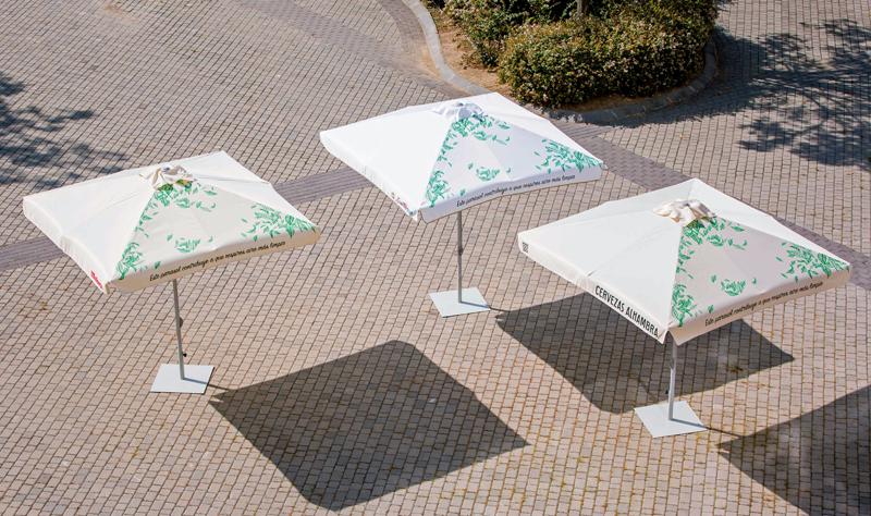 Innovadores parasoles de Mahou San Miguel