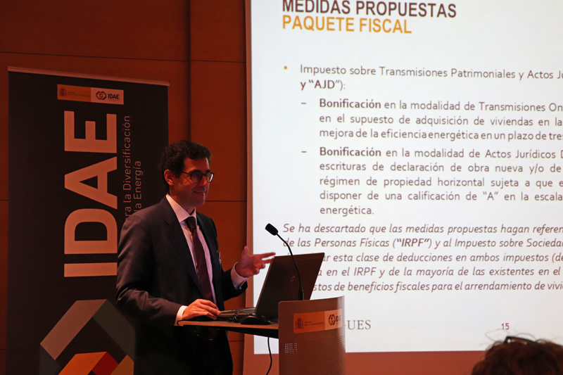 Presentación del informe sobre el Pasaporte Energético