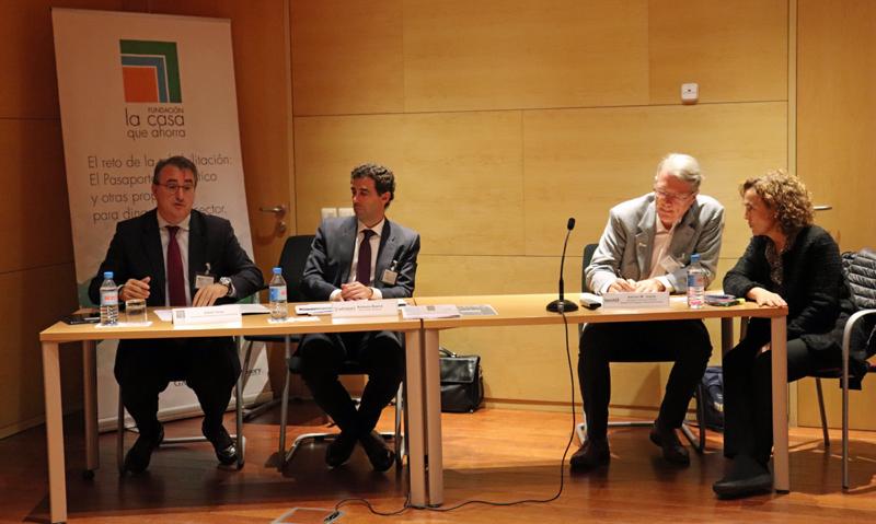 Acto de presentación del informe sobre el Pasaporte Energético