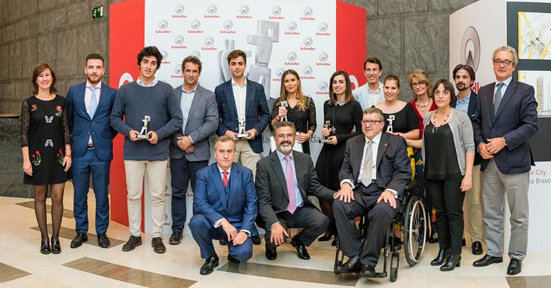 la 7ª edición de los Premios Schindler España de Arquitectura