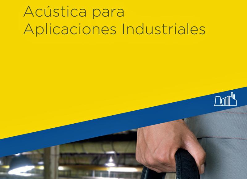 Portada catálogo sobre Acústica para Aplicaciones Industriales