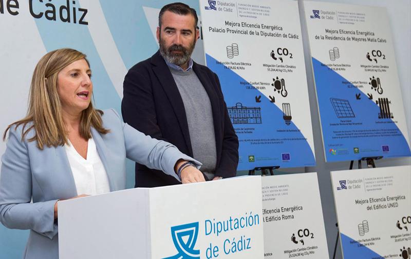 Presentación en la de la Diputación de Cádiz