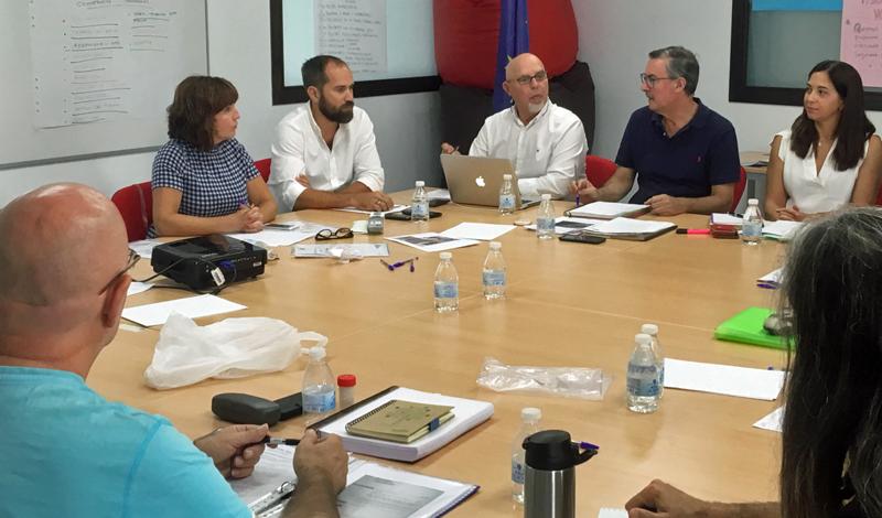 Reunión de los participantes en el proyecto Brick-Beach