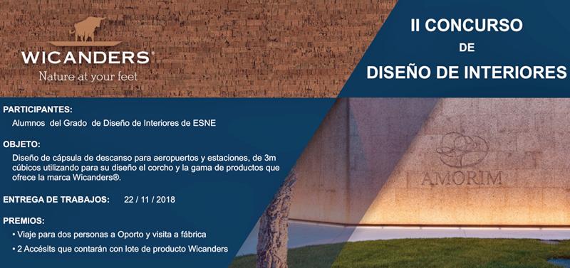 Cartel del concurso de Wicanders y la Escuela ESNE