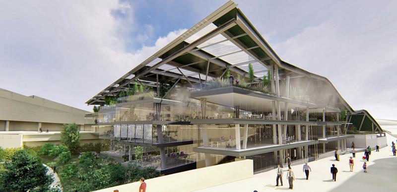 Futuro edificio Fontán en la Ciudad de la Cultura