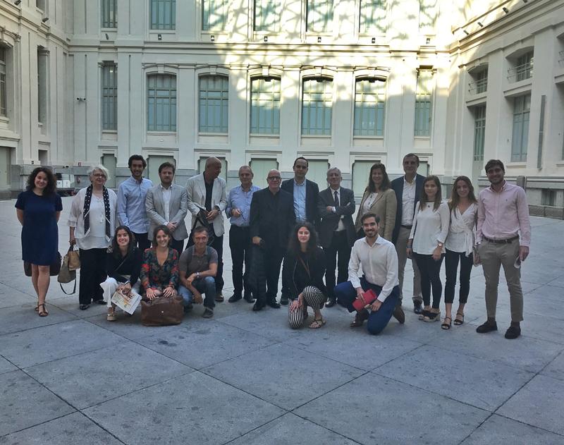 estudiantes ETSAM de proyectos fin de master de regeneracion de barrios de madrid