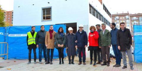 Avanzan las obras de la nueva sede de Cruz Roja en Alcorcón que será un edificio sostenible