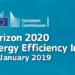 El encuentro 'Horizon 2020 Energy Efficiency Info Day' presentará las oportunidades de financiación en 2019