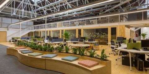 La nueva sede de la Fundación Biodiversidad aúna importantes elementos de la rehabilitación sostenible