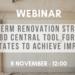 EuroACE y Build Up organizan un webinar sobre la directiva europea de eficiencia energética en edificios