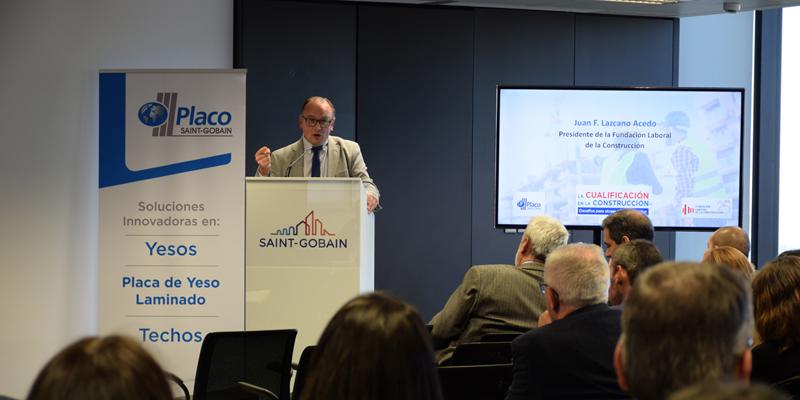 Saint-Gobain Placo y la Fundación Laboral de la Construcción analizan el sector laboral de la construcción