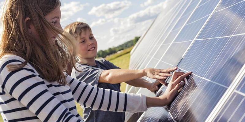 fotovoltaica niños
