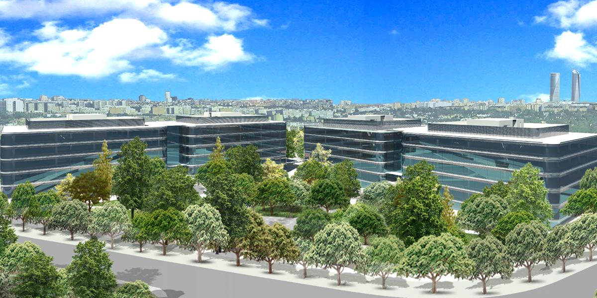 El complejo de oficinas de madrid 39 a2 plaza 39 de iberdrola inmobiliaria consigue el certificado - Oficinas de iberdrola en madrid ...