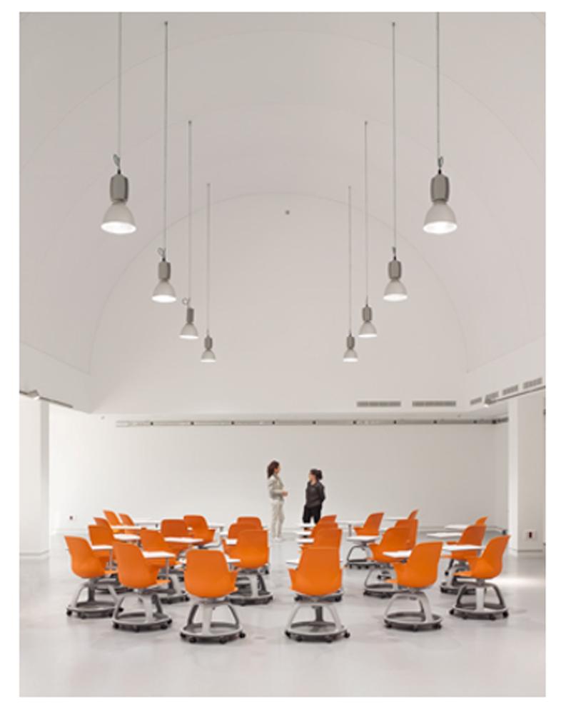 Figura 8. Aula-taller en el Edificio CAMPUS 2.