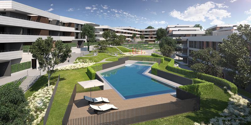 Neinor Homes y Bankia firman un préstamo verde para construir unas viviendas con certificación sostenible BREEAM en Madrid