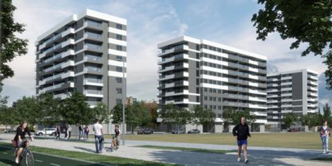 Residencial Flumen Plus, primer edificio multifamiliar certificado Passivhauss Plus de España