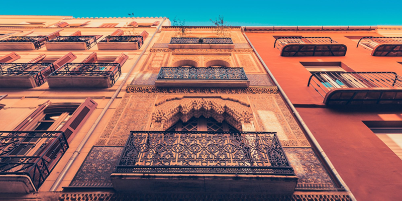 fachada edificio Andalucía Andalucía subvenciones para la rehabilitación de edificios