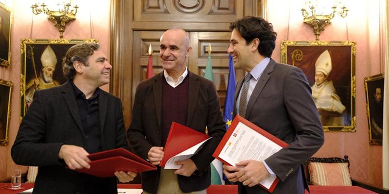 El Ayuntamiento y el COOAT de Sevilla firman un convenio para impulsar la construcción y rehabilitación sostenible