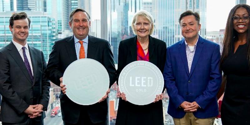 El edificio Bridgestone Tower en Tennessee obtiene la certificación LEED Gold