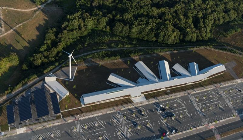 Figura 1. Vista aérea del proyecto Cine.