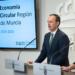 Murcia lanza su nueva Estrategia de Economía Circular con 51 medidas que suman una inversión de 510,4 millones