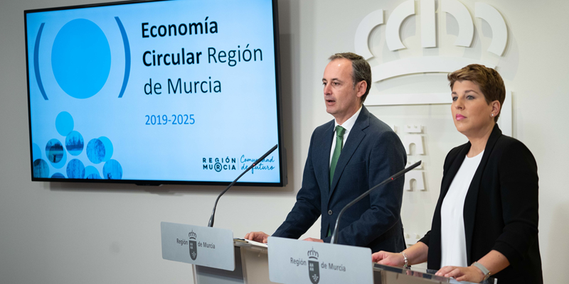 La Estrategia de Economía Circular de murcia contempla 51 medidas y 510,4 millones de inversión